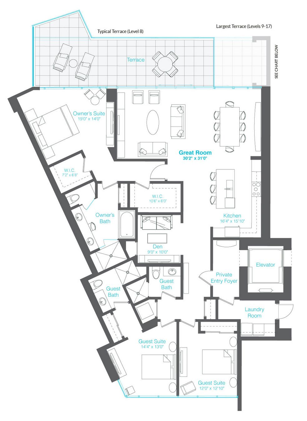 Downtown Sarasota Condos For Sale At Vue Floor Plans Sarasota Bay Condos For Sale