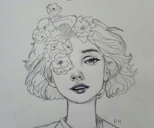 Imagen De Flowers Art Sketches Sketches Drawings