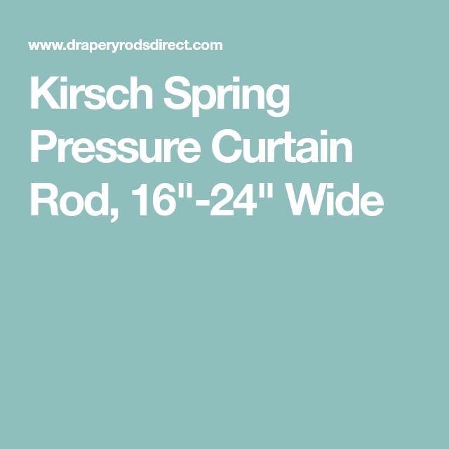 Kirsch Spring Pressure Rod Curtain Rods Rod Spring