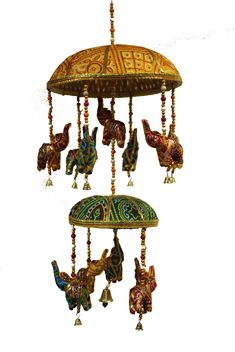 Picture of Elephant Merry-Go-Round Two Tier