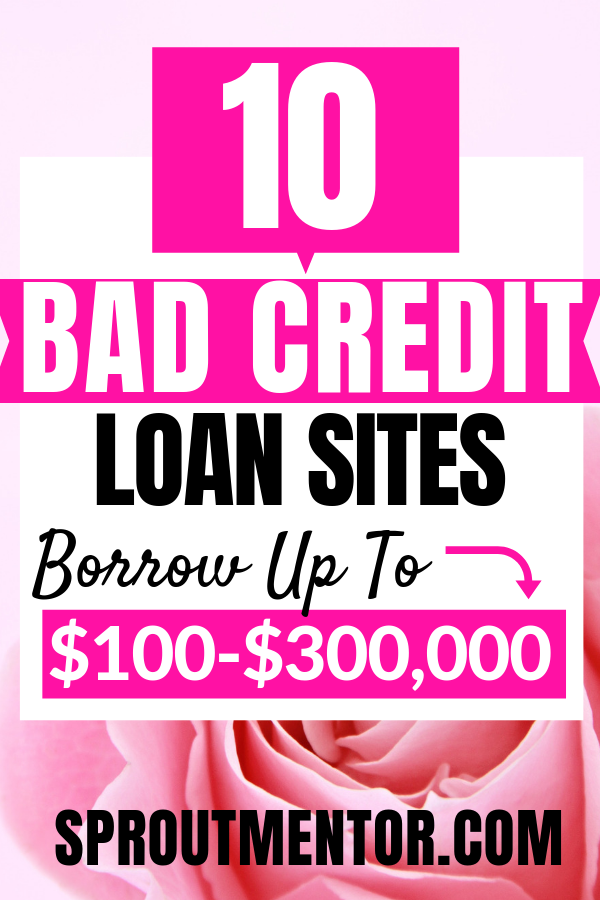 15 Loan Sites For Bad Credit Loans For Bad Credit Unsecured Loans Quick Loans