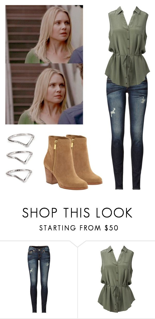 """""""Camille / cami o'connell 3x05 - The Originals"""" by shadyannon ❤ liked on Polyvore featuring True Religion, Forever New, MICHAEL Michael Kors and ABS by Allen Schwartz"""