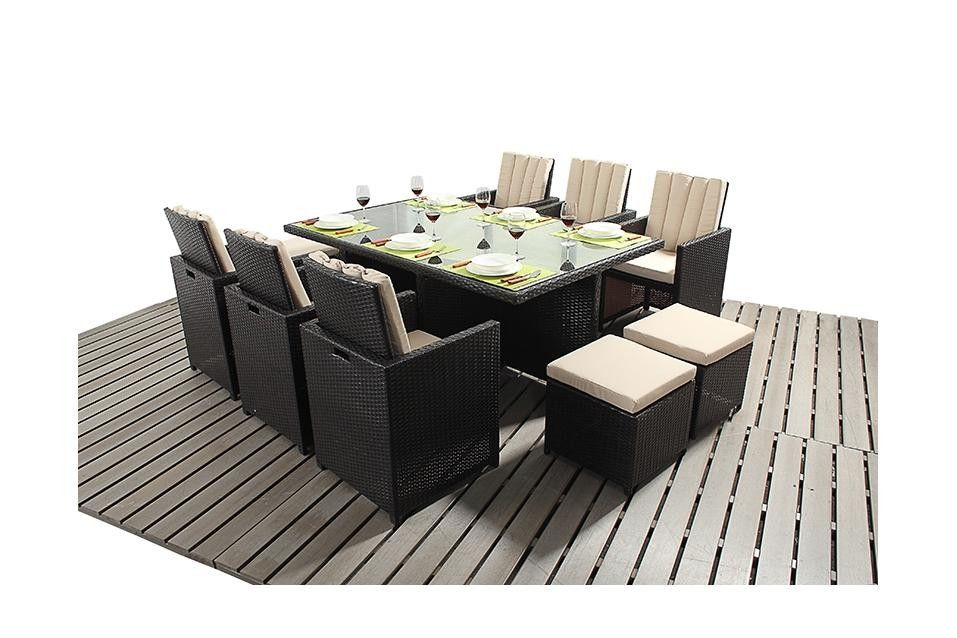 Port Royal Luxury Rattan 6 Cube Outdoor Dining Tables Chairs Sofas Conservatory And Outdoor Rattan Garden Furniture Outdoor Dining Table Garden Furniture