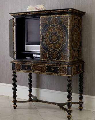 Beautiful Furniture Used To House The TV. Would Look Beautiful In A Living  Room Or. Small Tv CabinetTv OptionsHide ...