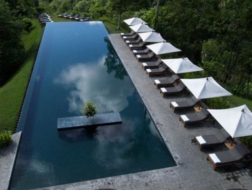 luxury boutique resort hotel in Ubud, Bali
