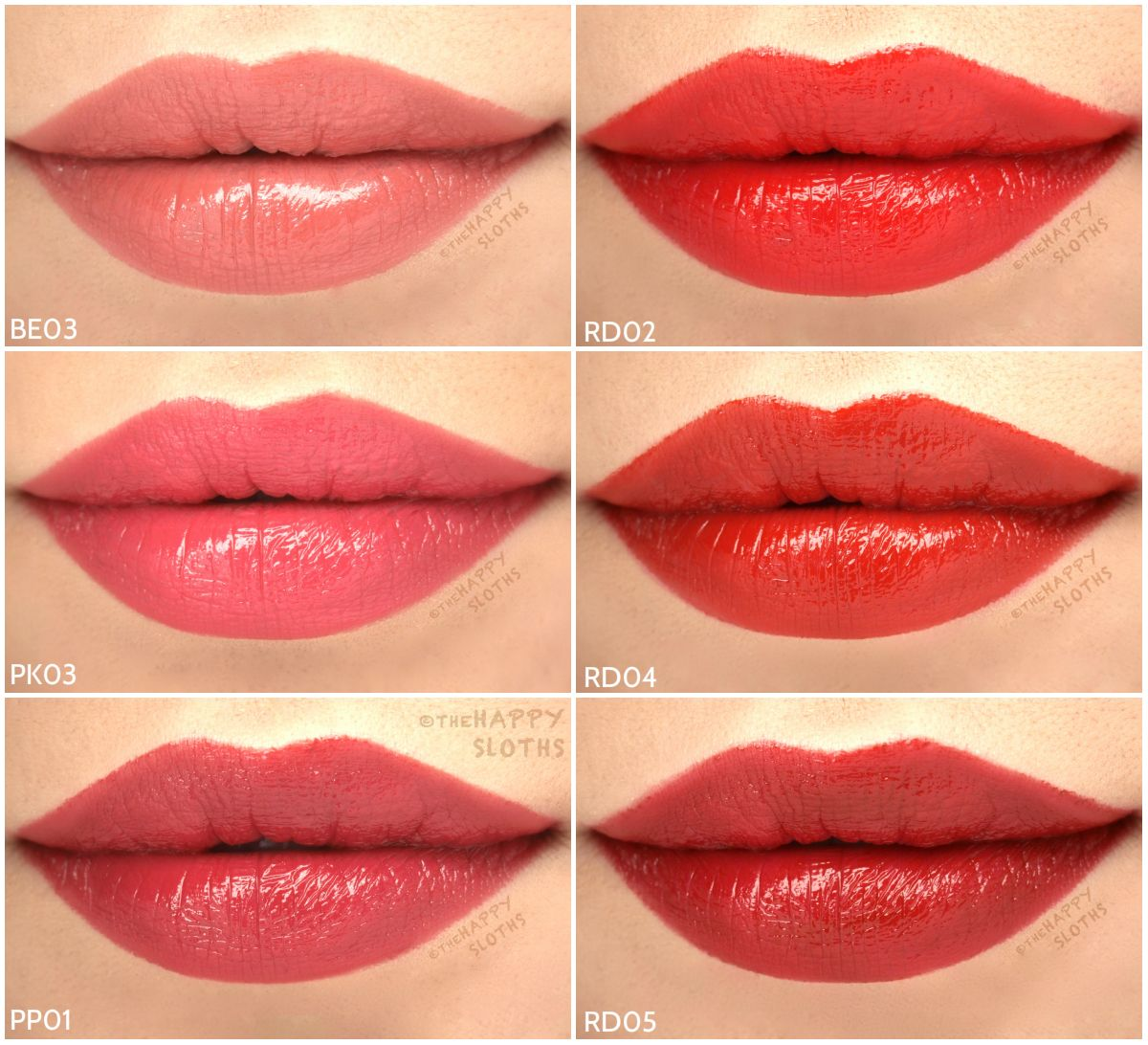 90307bc128 THE FACE SHOP Moisture Touch Lipstick: Review and Swatches | Face ...