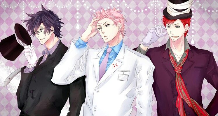 Karneval ~~ Bosses :: Hirato, Akari, & Tsukitachi
