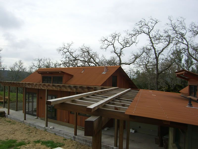 Buy Corten Roofing A606 At Cortenroofing Com Roofing Metal Roof Corrugated Metal Roof