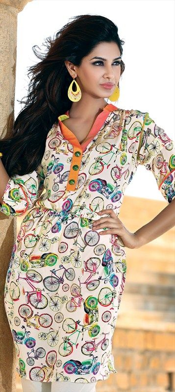 2222222 bicycle prints tunic quirky