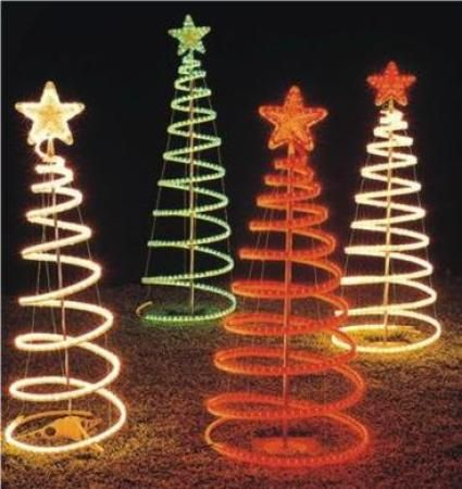 How to make a wire spiral christmas tree google search christmas how to make a wire spiral christmas tree google search aloadofball Choice Image