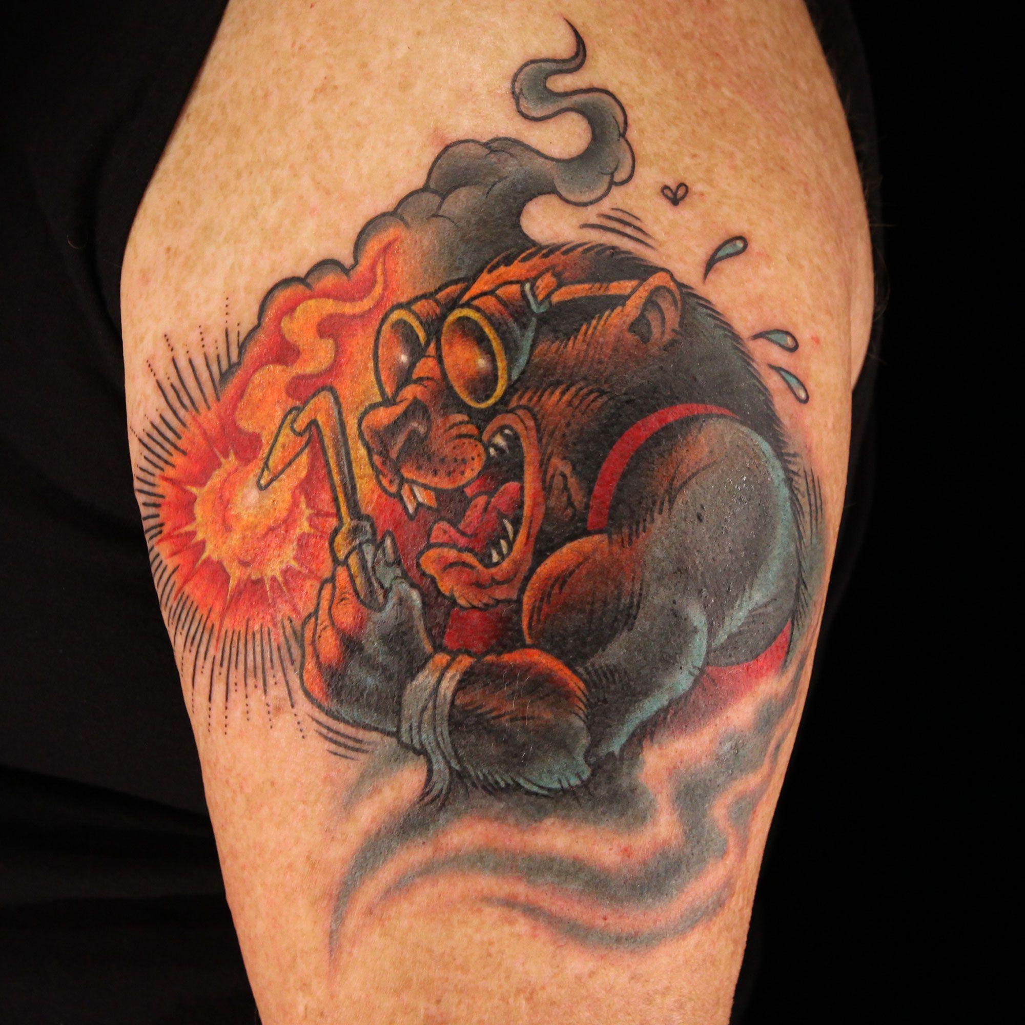 Ink Master S47 / Scott Marshall Tatuaggi