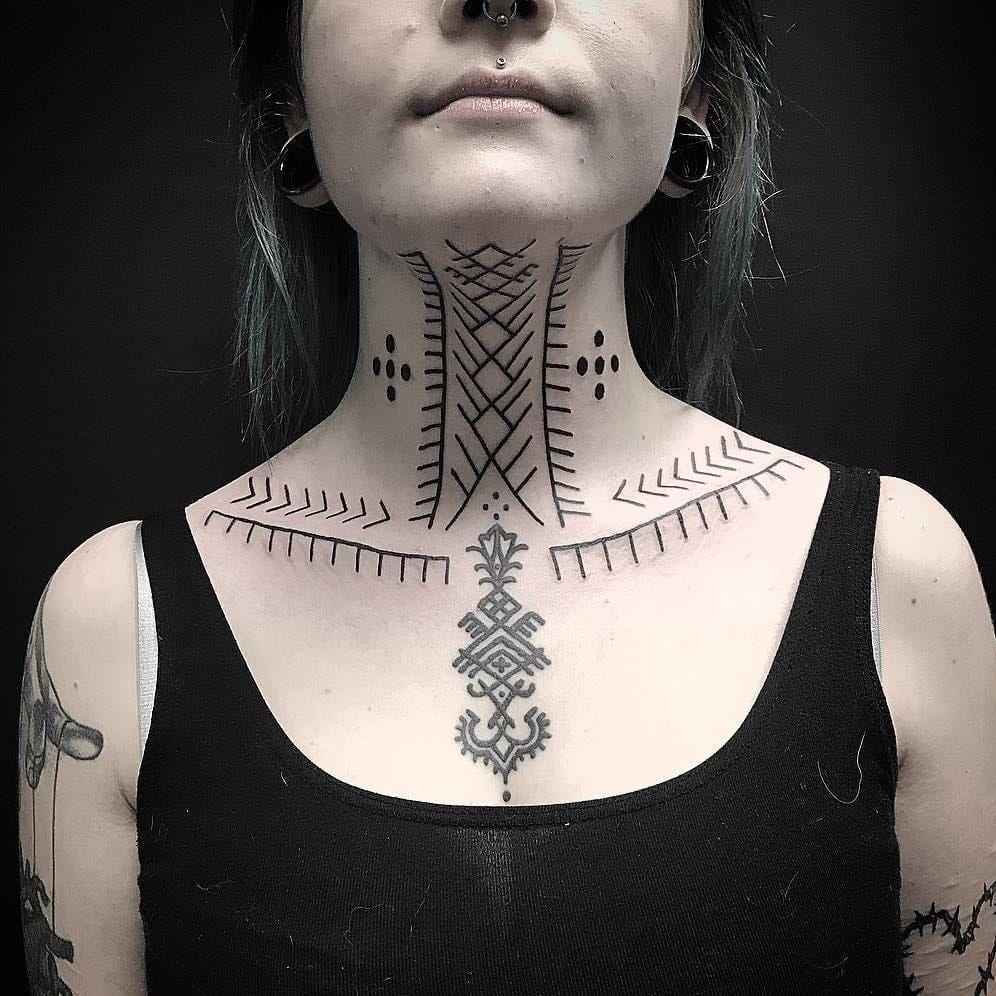 One Of The Oldest Art Forms Tribal Tattoos Tatu