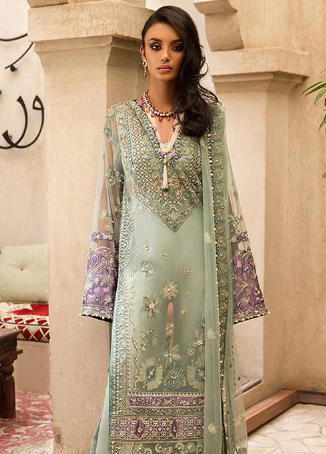 Elan Collection 2019 Latest Unstitched  Embroidery Pakistani Shalwar Kameez Suit