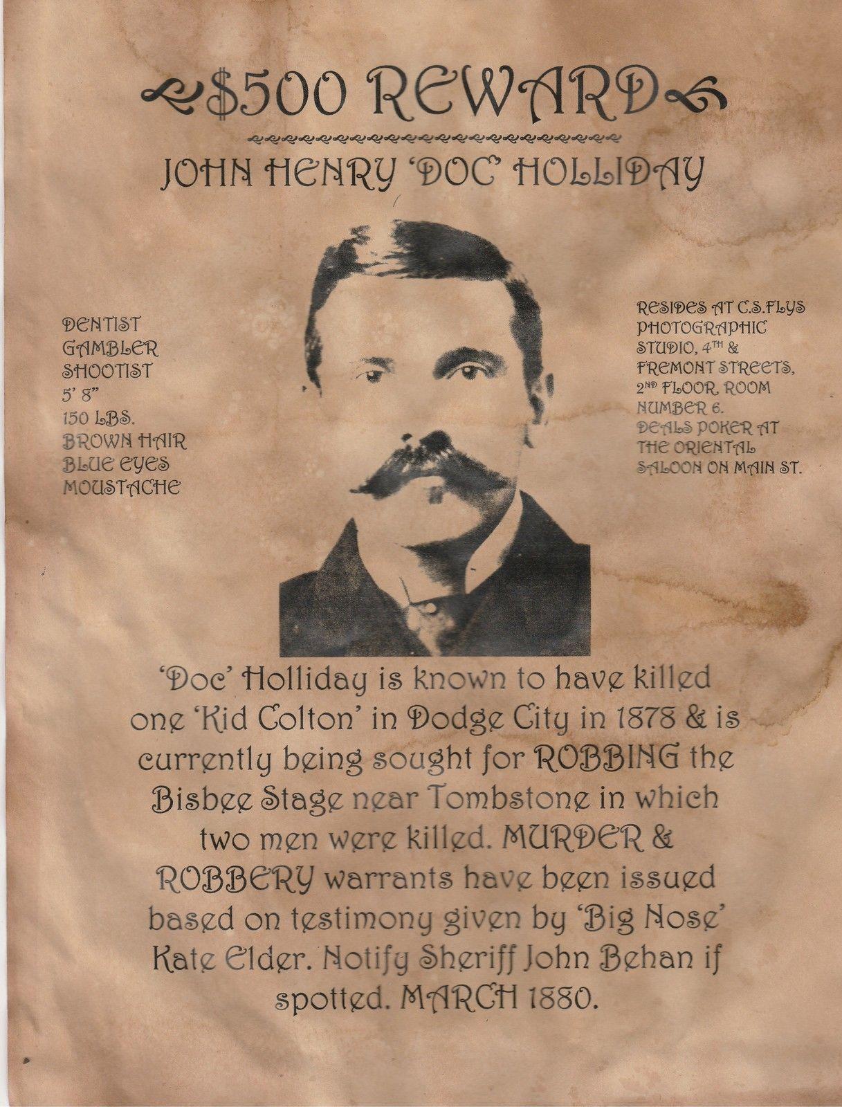 tombstone movie poster ebay