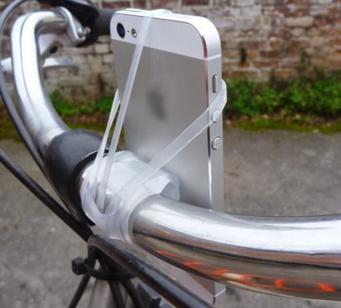 Universal MTB Bike Mobile Phone Mount Holder Bicycle 360° Stand for Smartphone