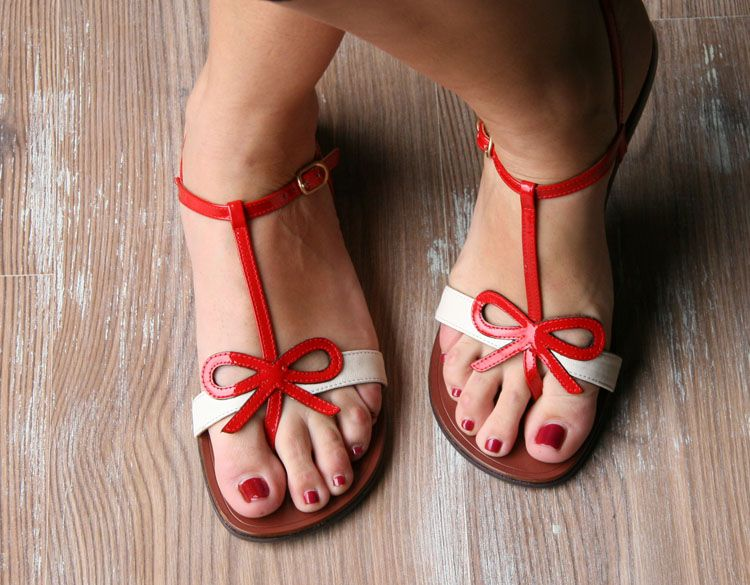 present, by chie mihara--or, the only sandals i will ever need.