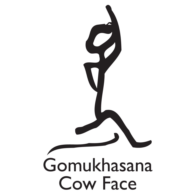 Gomukhasana Stick Figure