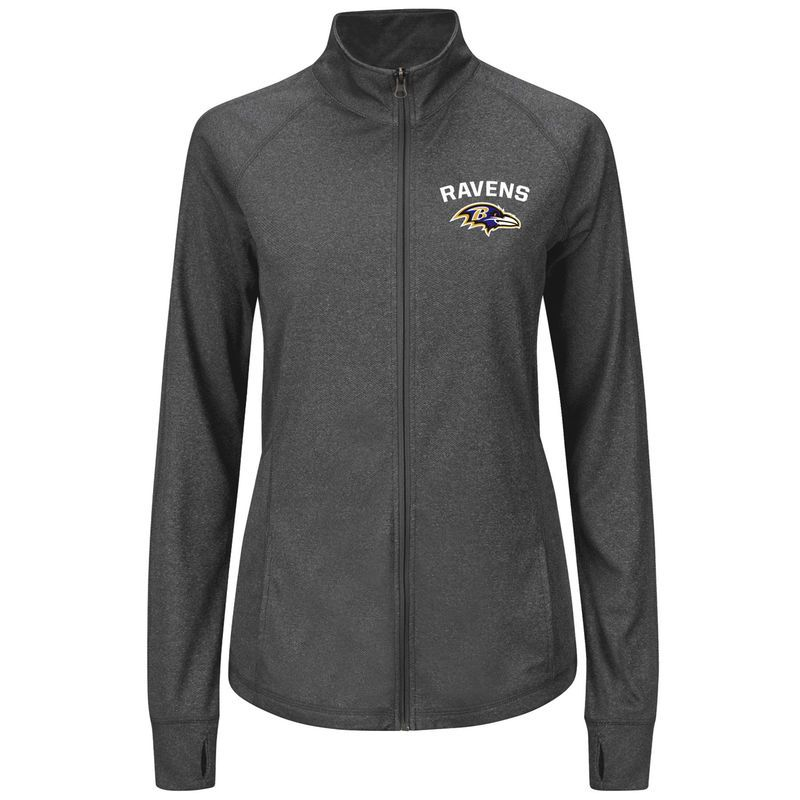 Officially licensed MLB Baltimore Orioles Full-Zip Jacket by Majestic