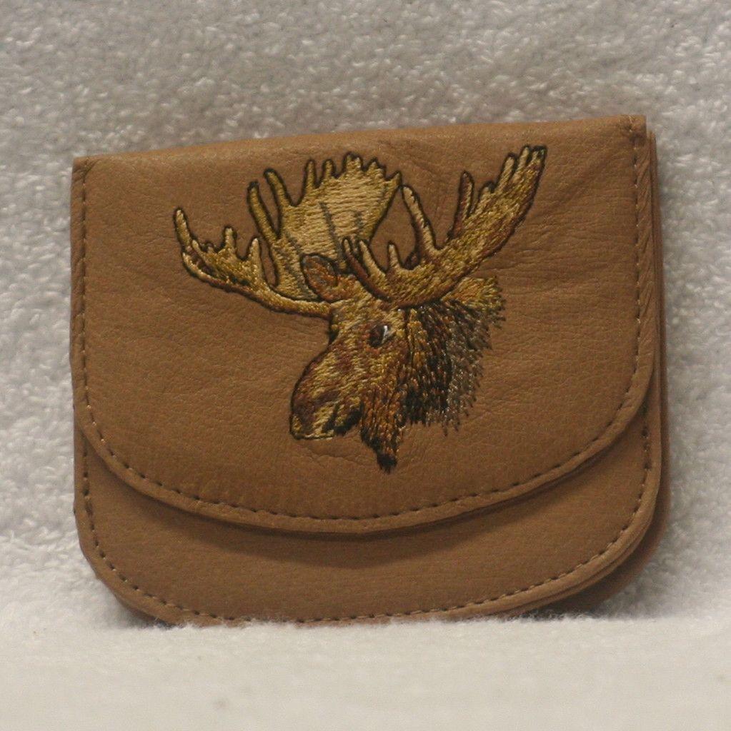 Leather Handy wallet - Moose