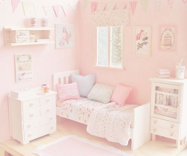 Pink Room <3 | Places | Pinterest | Pink room, Dollhouses and Miniatures
