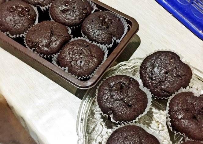 Resep Cupcake Chocolate Oleh Yukar Septiani Resep Kue Mangkok Coklat Soda Kue Cokelat