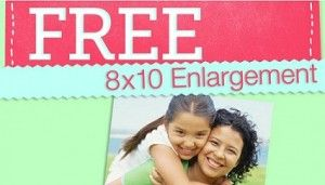 Feona at The Coupon Boutique shared how to get a Free 8x10 enlargement!