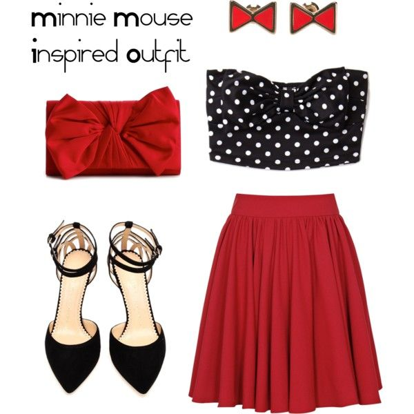 Birthday Outfit For Mom: Minnie Mouse Inspired Outfit For The Mom Of The Birthday