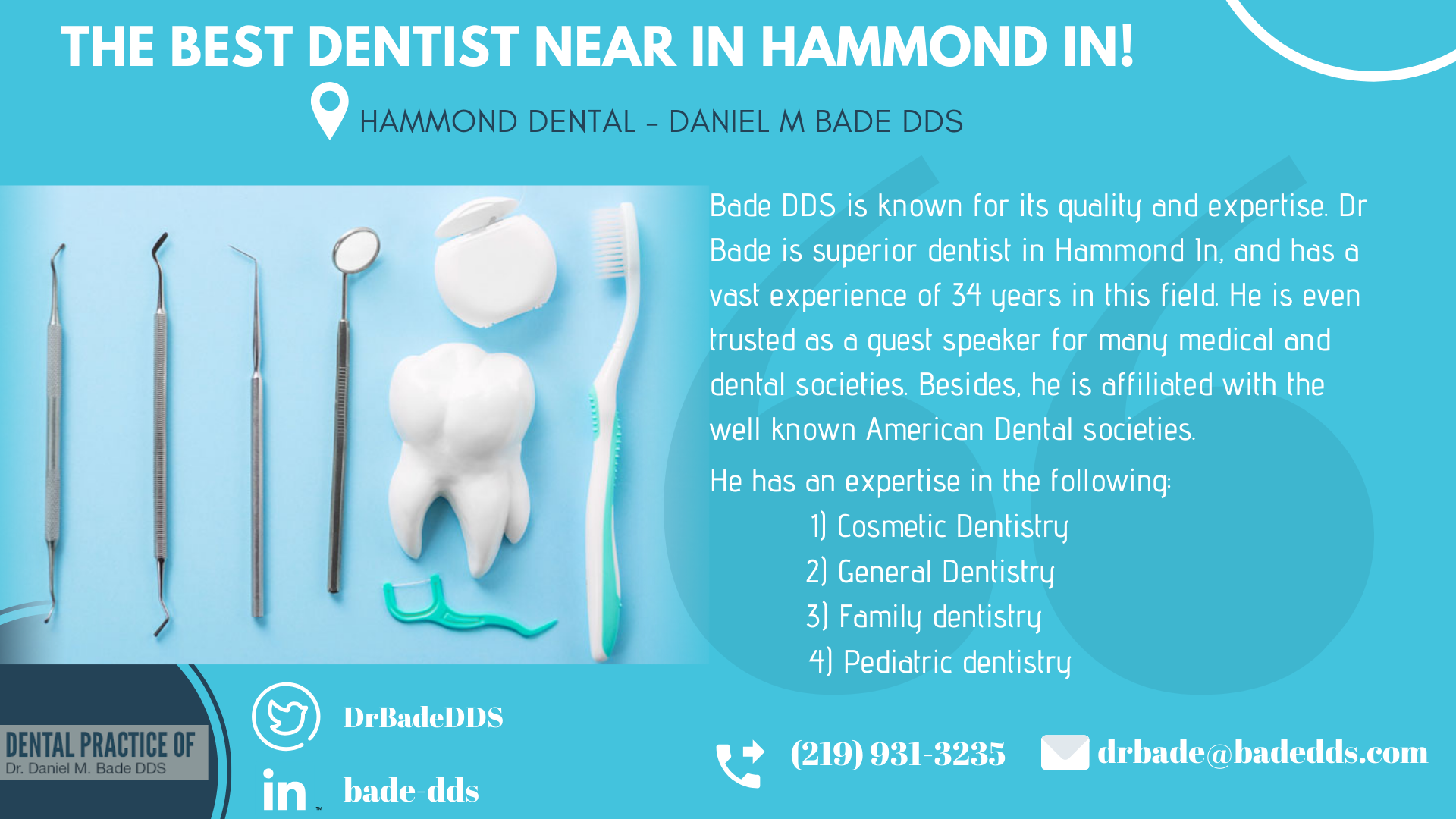 Pin On Hammond Dental Daniel M Bade Dds
