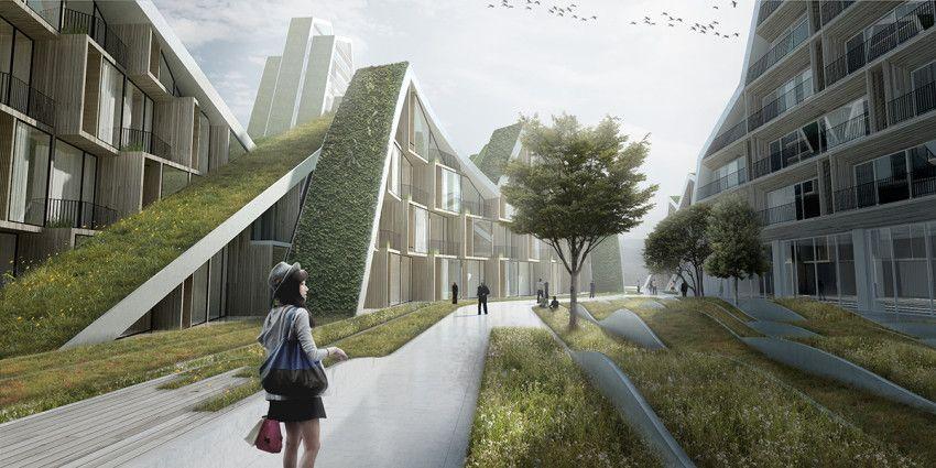 Hualien residences bjarke ingels group arquitectura for Arquitectura parametrica pdf