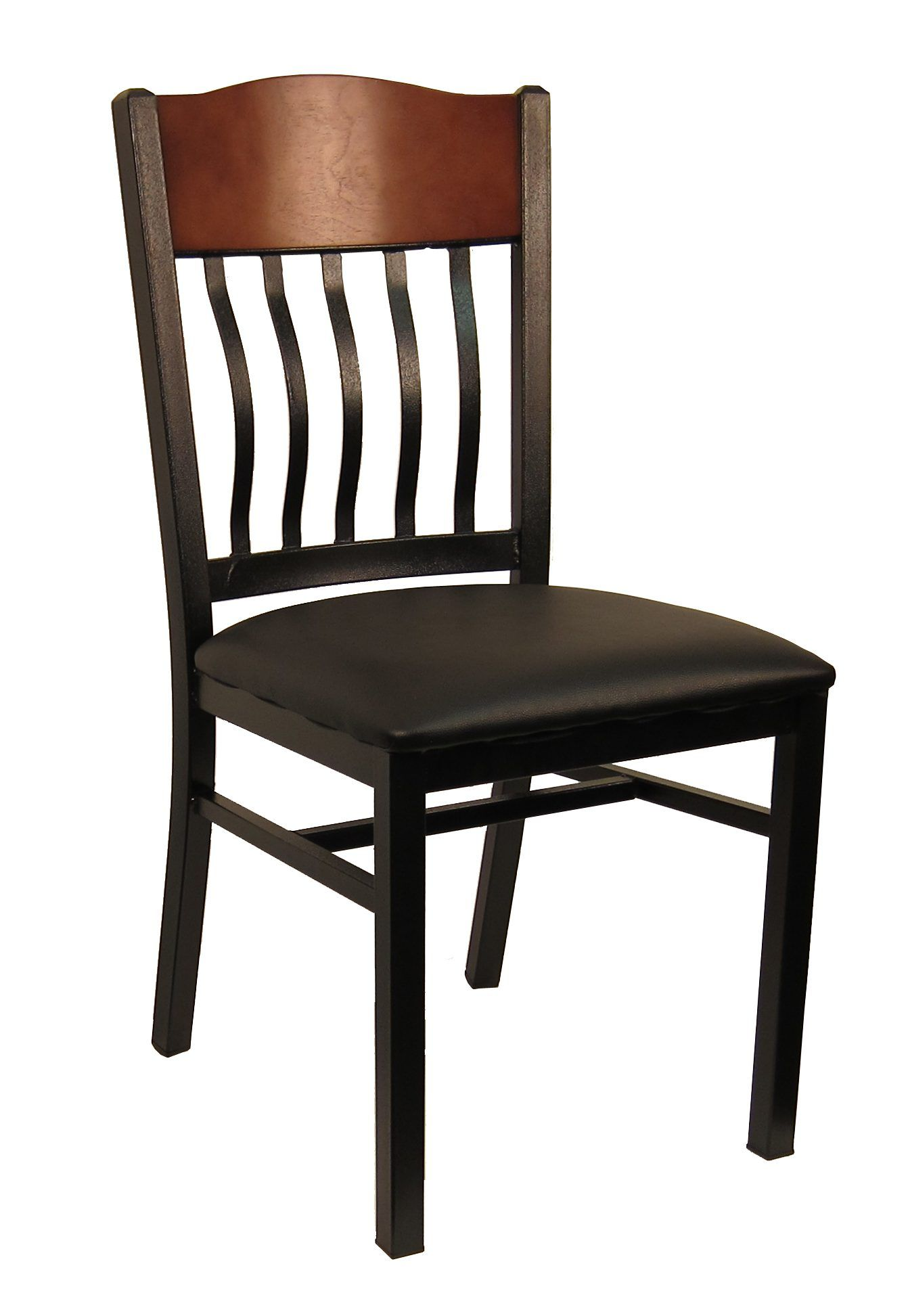Wood Top Strap Back Chair Restaurant furniture chairs