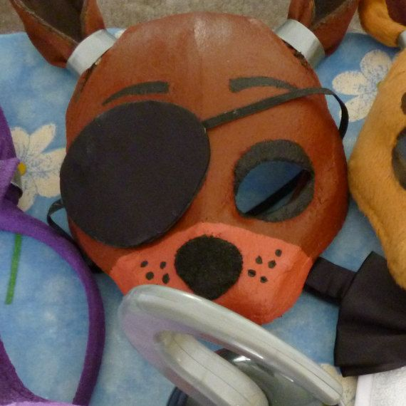 Five Nights at Freddy's Foxy the Pirate Mask by ShopBHawk on Etsy ...