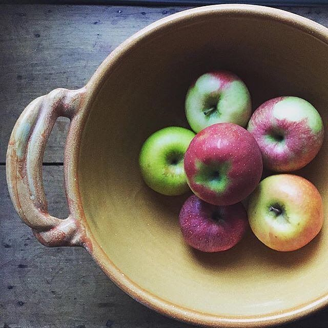 Some apple pie coming up today #apple @cookinglight  @kngluv