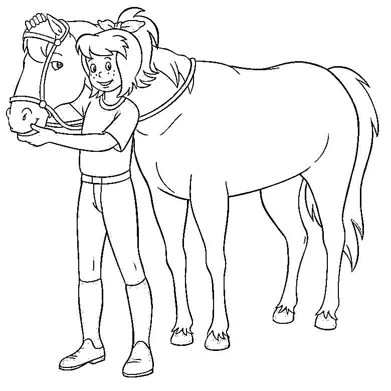 Ausmalbilder Bibi Und Tina Kostenlose Kids Ausmalbildertv Ausmalbilder Ausmalen Ausmalbilder Pferde Zum Ausdrucken