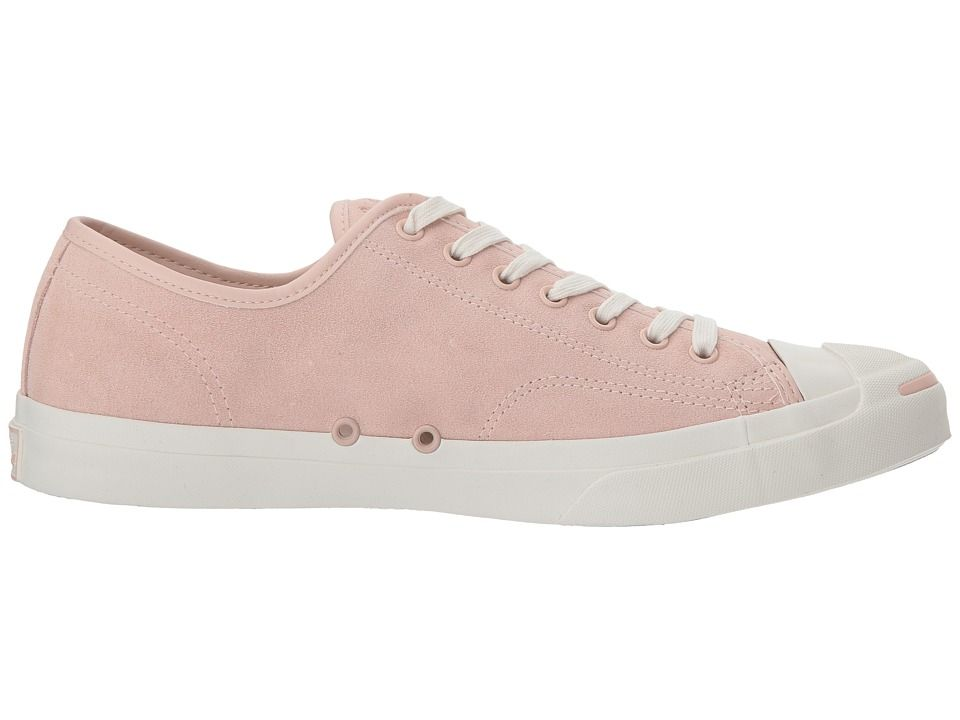 Converse Jack Purcell(r) Jack Suede Ox Classic Shoes Dusk Pink/Natural/