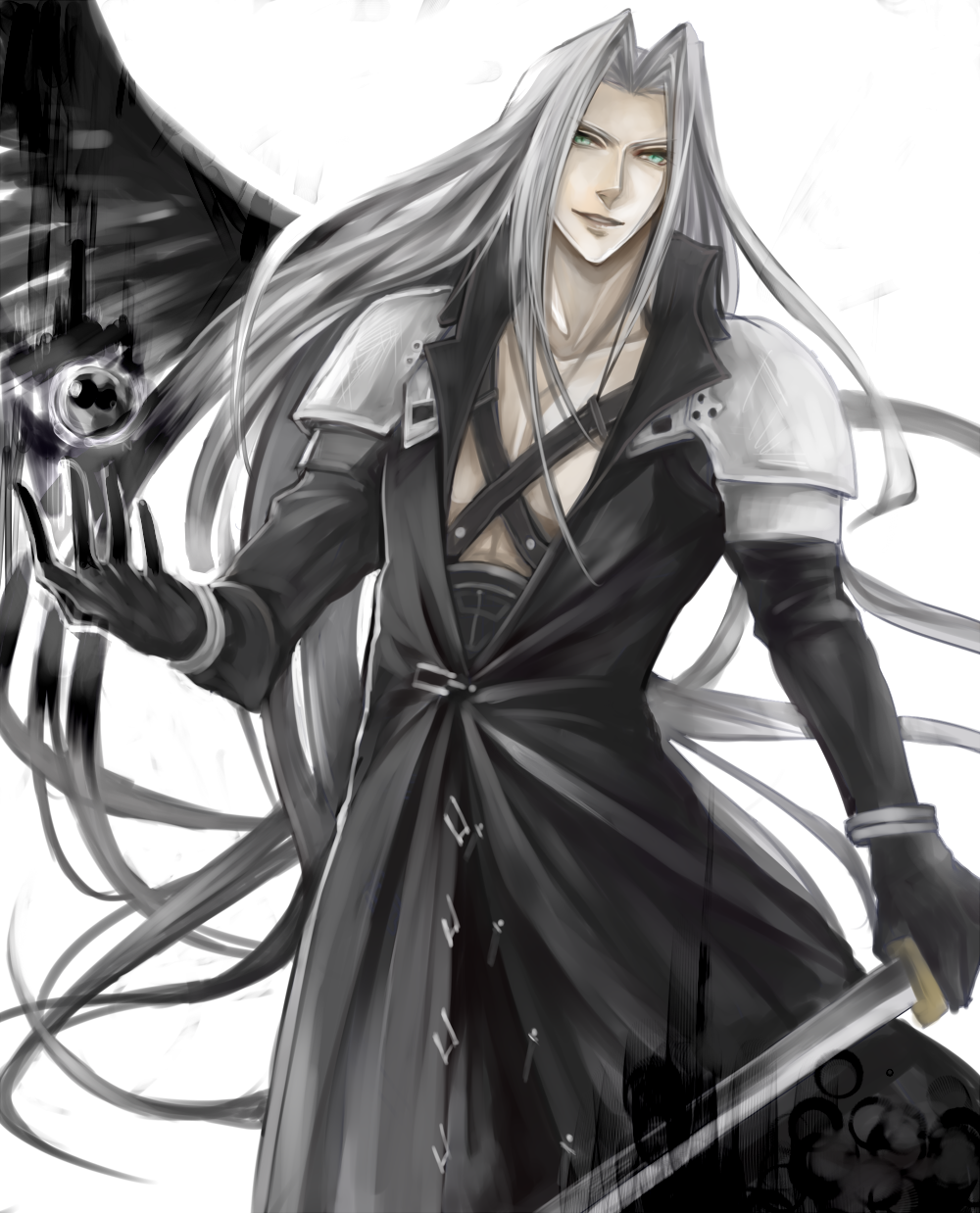 Final Fantasy VII - Sephiroth. | Final Fantasy VII ...  Final Fantasy V...