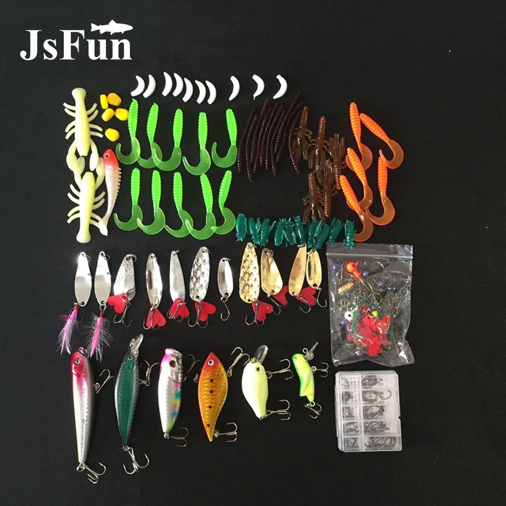 192pcs Soft Worm Lure Carp Fishing Lure Set + Lead Head Jig Hooks Simulation Suite Soft Fishing Baits Kit Set Tackle Pesca L109