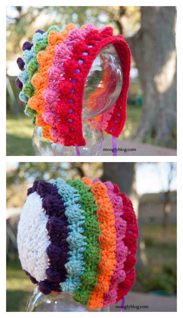 Beautiful Bobble Stitch Crochet Patterns and Projects | Häkeln