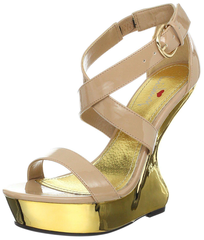 245dee0e0c4 Luichiny Women s Gear Up Wedge Sandal     Trust me