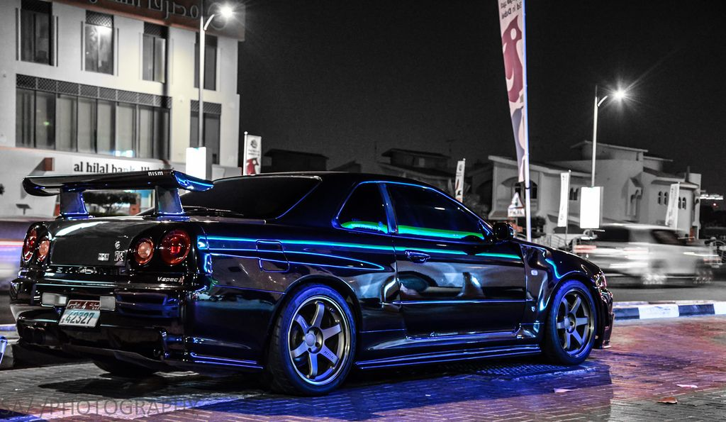 Nissan skyline gtr r34 modified