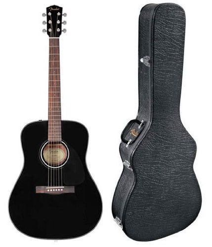 Fender Cd60 Dreadnought Acoustic Guitar Black Want To Know More Click On The Image Note It Is Affiliate Black Acoustic Guitar Guitar Acoustic Guitar Chords