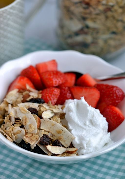 "The BEST vegan granola recipe. From the new cookbook ""Green, Glam & Gourmande"""