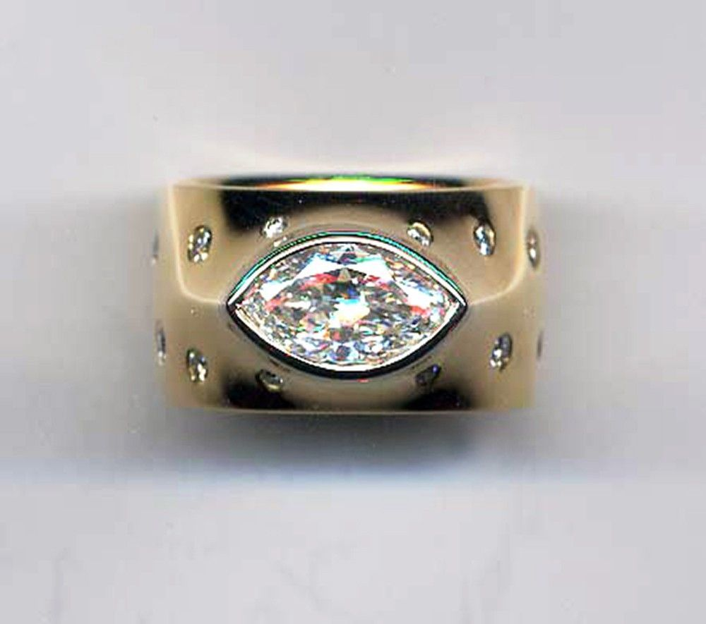 unique band rings diamondstud bands wide diamond