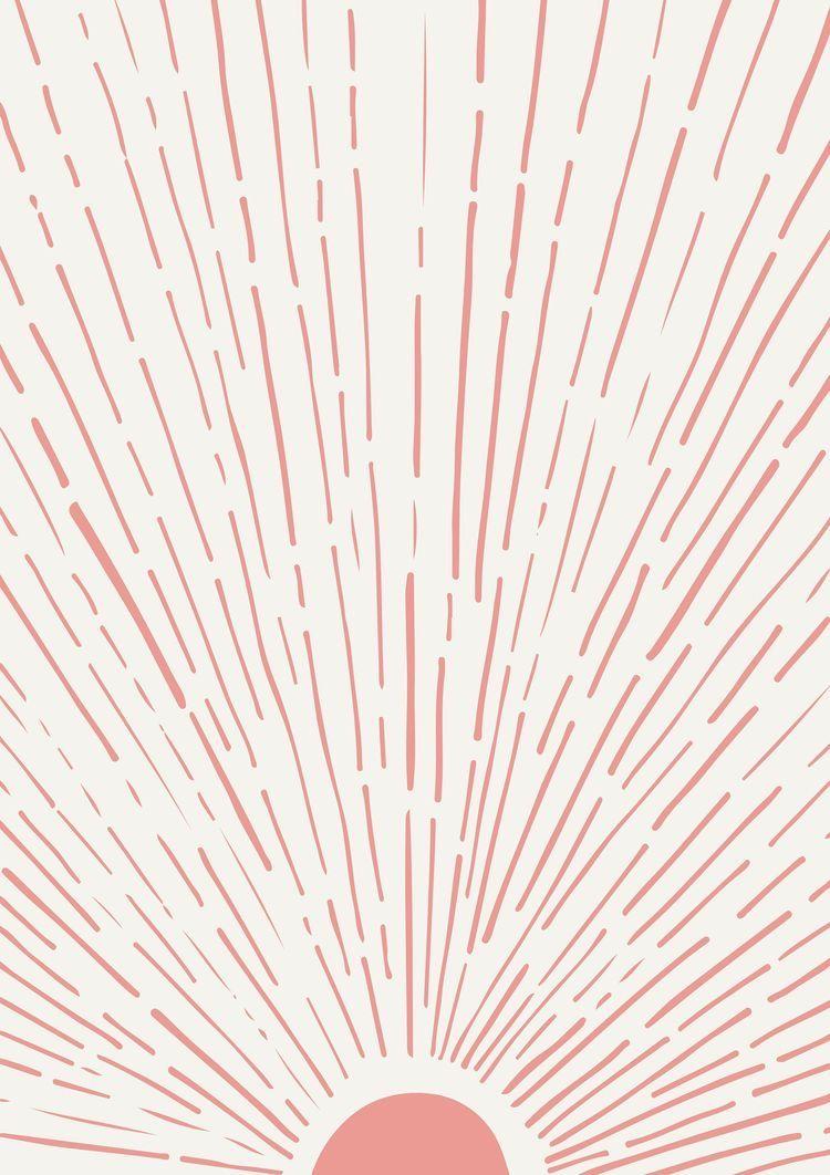 pinterest // preslienb in 2020 | Pink wall art, Minimalist ...