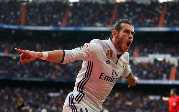 Download wallpapers Gareth Bale, 4k, Real Madrid, Welsh