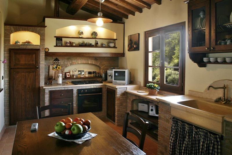 Grifo Caminetti - Le nostre cucine in mattoni, pietre, marmo e legno  Country home  Pinterest ...