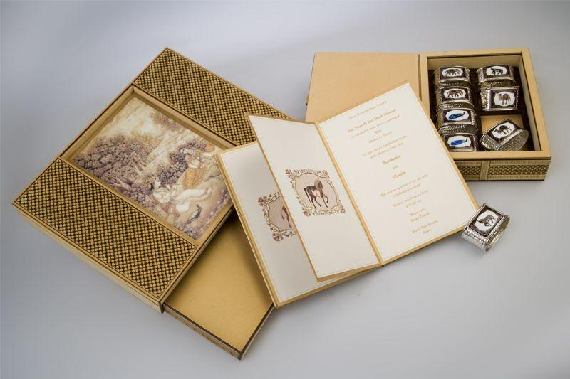 wedding invitation boxes india
