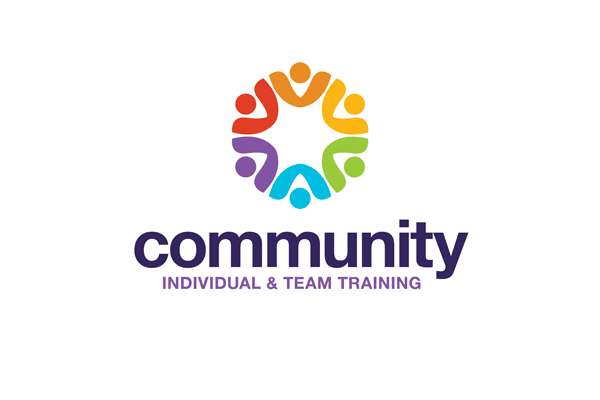 community logo design template for teams or groups
