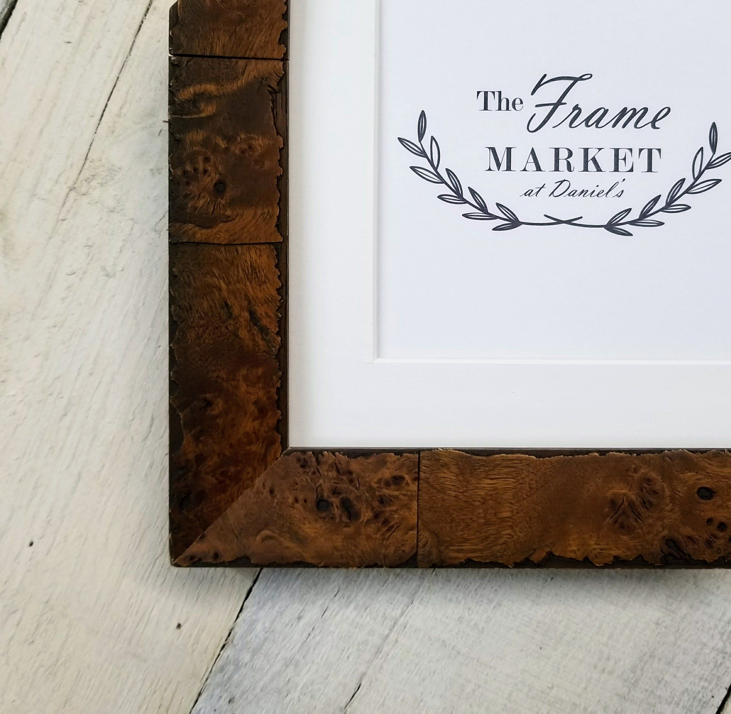Burl Wood Picture Frame 8x10, 9x12, 11x14, 14x16, 16x20 Standard and ...