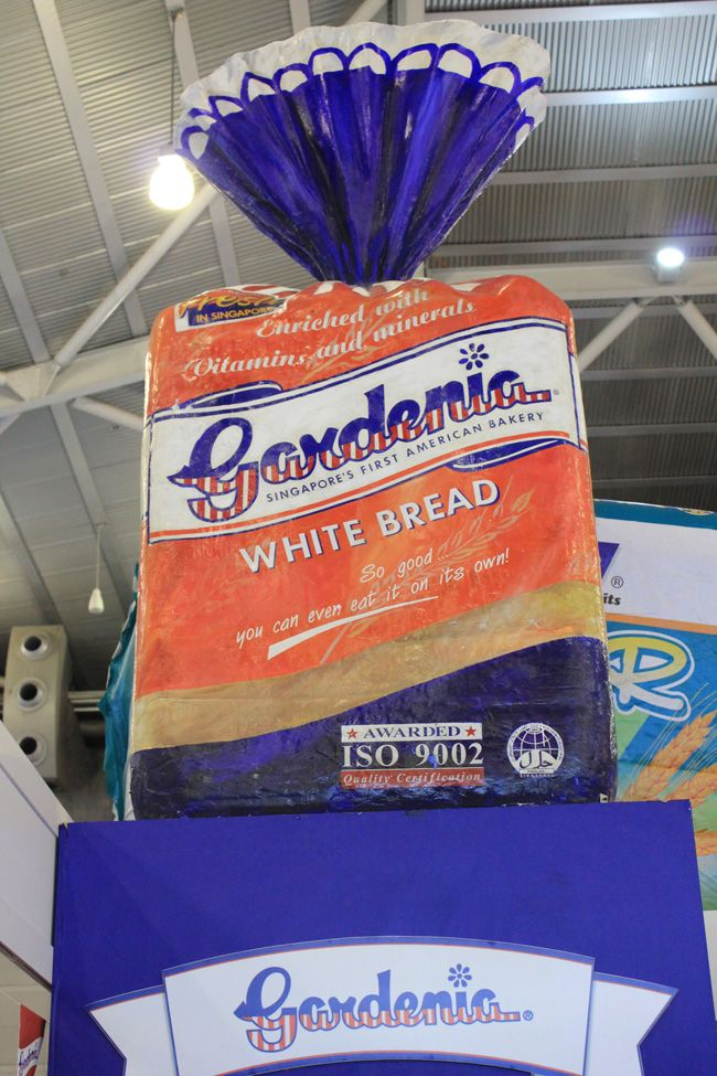 Gardenia Bread Food Expo 2011 Booth The Selling Points Food