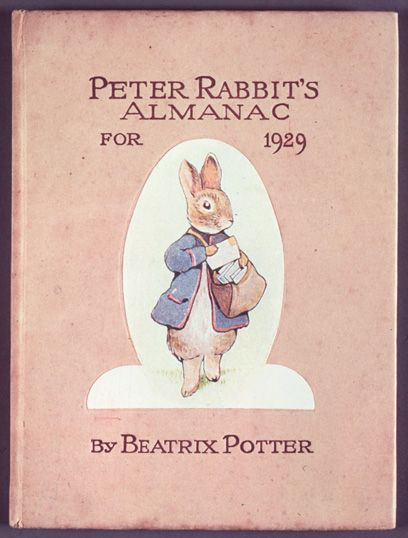 #Beatrix #Potter | Almanaque de Pedrito Coelho para 1929 | A autora detestou o resultado e não saiu mais nenhum volume
